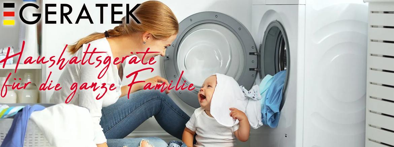 GERATEK Haushaltegeräte für die ganze Familie