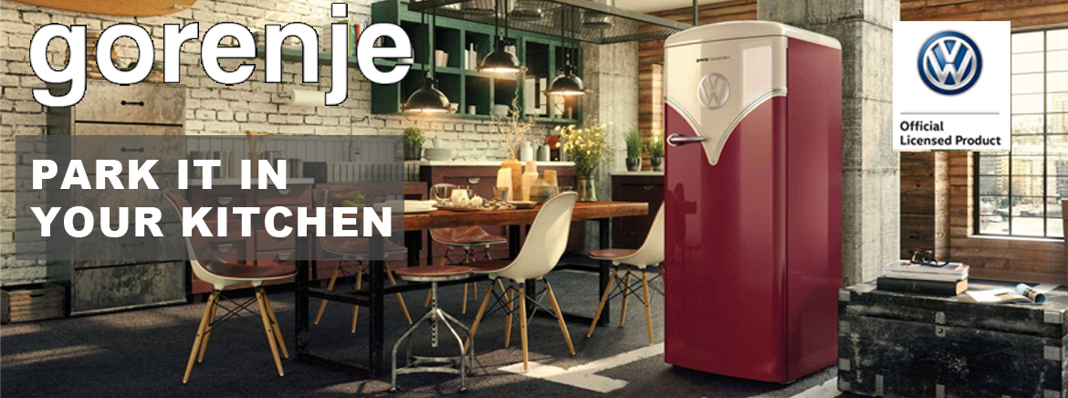 GORENJE Park it in your kitchen